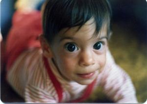 Iman big eyes